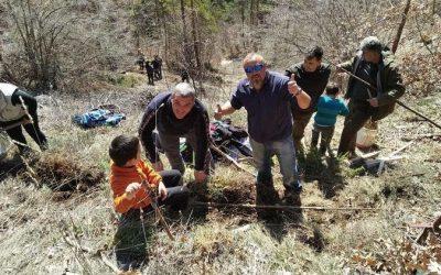 КНСБ – Смолян засади местност край рудоземското село Чепинци